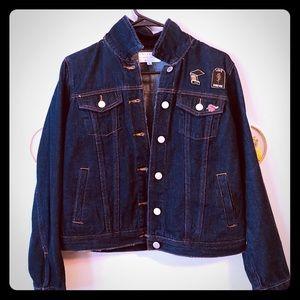 kendall & kylie jean jacket